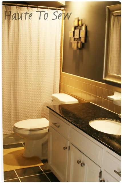 1000 ideas about yellow bathrooms on pinterest grey yellow bathrooms bathroom and blue - Bathroom makeover practical refreshing ideas ...