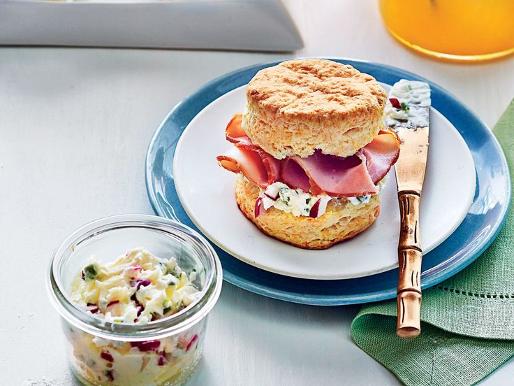 Ham Biscuits Recipe   Our classic, melt-in-your-mouth biscuits are pretty much perfect on their own, but they make great sandwiches too. Creole Mayonnaise, Chive-Radish Compound Butter, Spicy Orange-Peach Butter, and Pecan Cheese Spread are our newest spreadable recipes that you'll love for these biscuits, but whether jelly, jam, mayo, or mustard, you can't go wrong topping this timeless biscuit recipe. We used a small 2-inch biscuit cutter, so you may want to bake extra for Easter…
