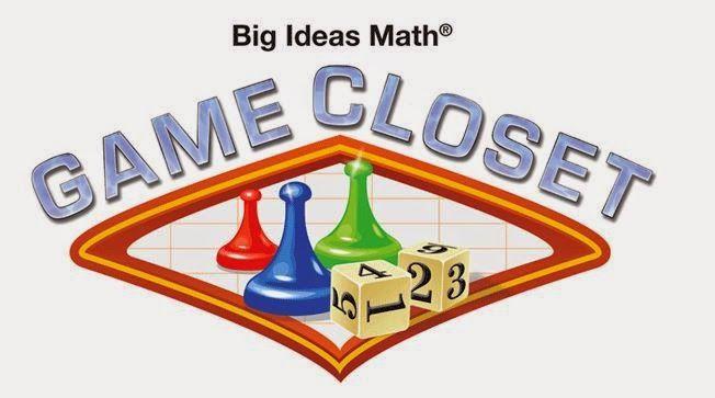 Math = Love: Stuff Worth Sharing: Big Ideas Game Closet  https://www.bigideasmath.com/teachers/game_closet_hs.php