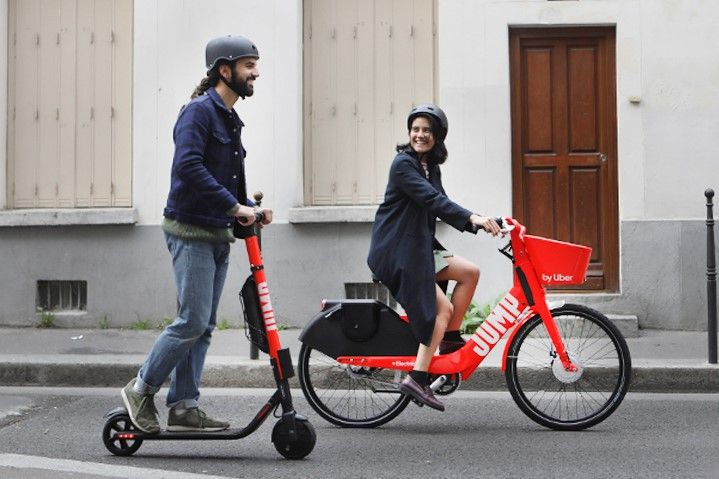 Uber Has Launched A Shared Electric Scooter Rental Scheme In Paris