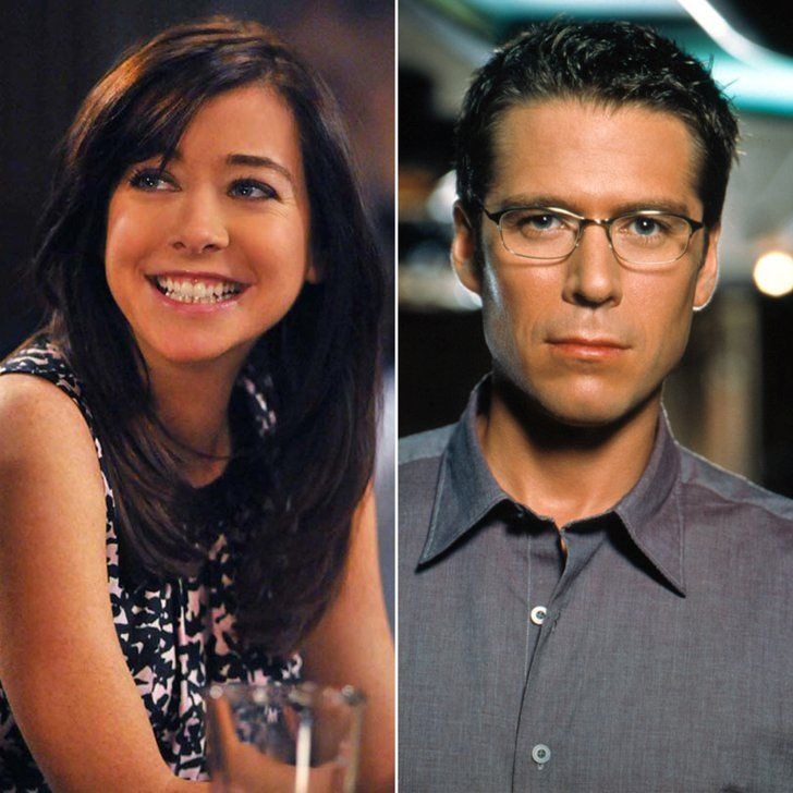 Pin for Later: 30 TV Characters You Didn't Realize Were Married in Real Life Lily Aldrin and Wesley Wyndam-Pryce