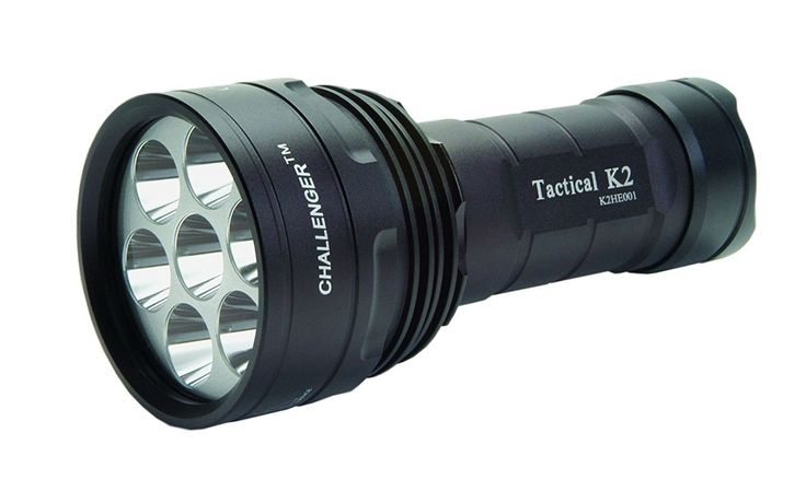 MicroFire PL-500R Challenger I LED Flashlight with Strobe, Rechargeable, Black => You will love this! More info here : Camping supplies