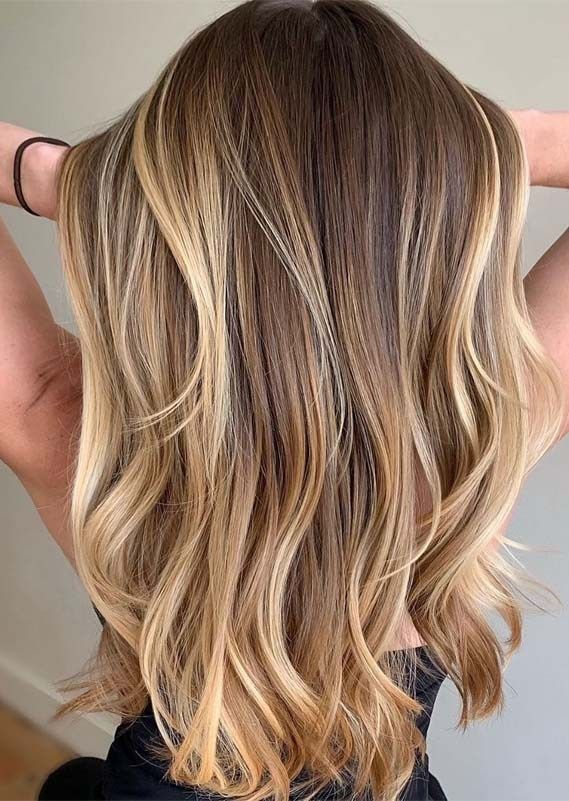 Gorgeous Highlights of Balayage Hair Colors for Women 2019