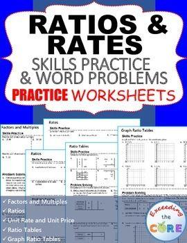 ratios rates homework practice worksheets skills practice word problems the words. Black Bedroom Furniture Sets. Home Design Ideas