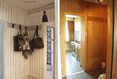Rozeta handmade: Z cyklu inspiracje dla domu: Boazeria - stare i nowe oblicze.