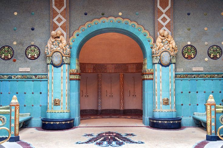 Szemünknek is élvezet – a budapesti fürdők építészeti csodái