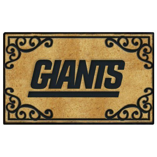 New York Giants Door Mat By The Memory Company. $34.99. Features Team Logo,