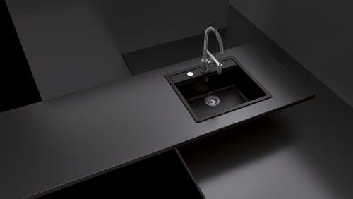 Küchenschrank Apothekerschrank Ikea ~ SCHOCK Unterbauspüle MONO N 100 U, Puro Cristadur, Unterschrank 60 cm