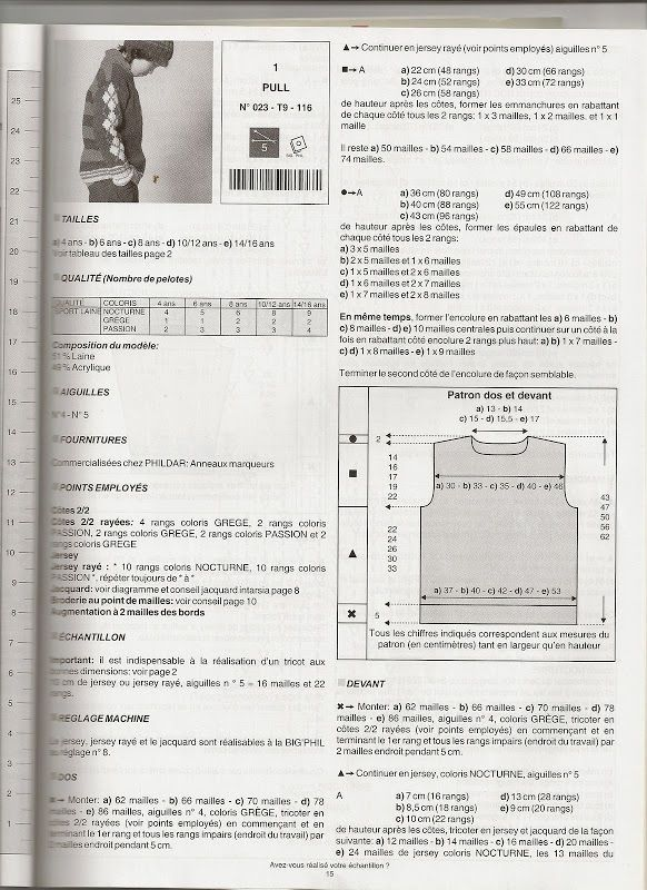 phildar n°23 - veronique-tricote - Picasa Albums Web