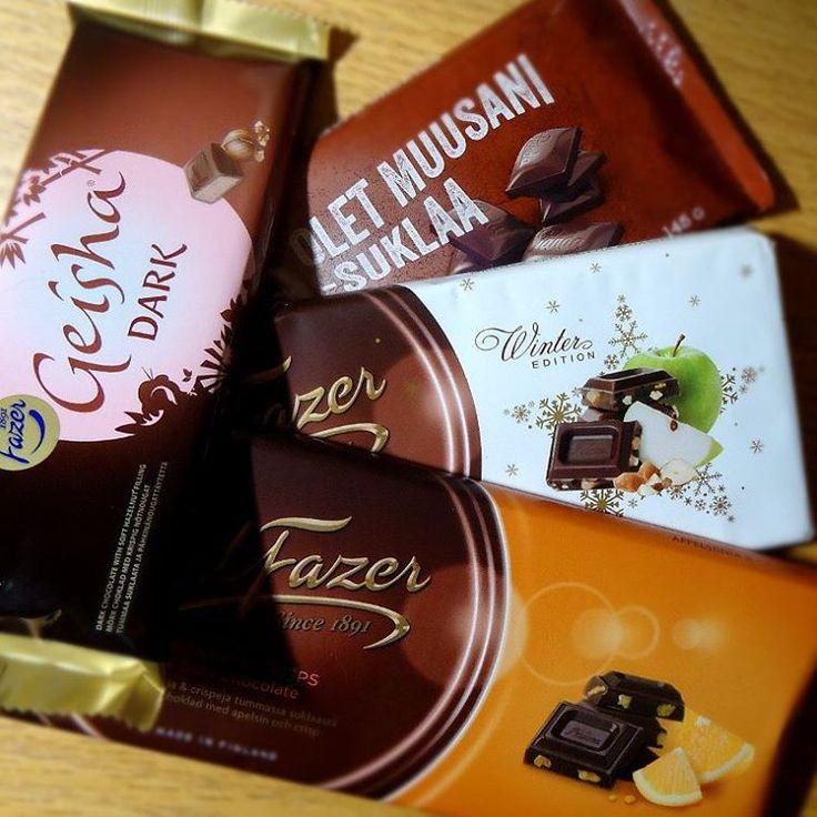 Finnish Chocolate, damn good chocolate! #fazer #chocolate #darkchocolate…
