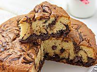 Torta alla Nutella marmorizzata ricetta