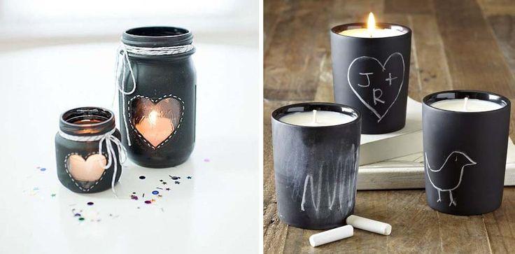 candele vernice lavagna