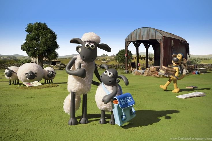Download Shaun The Sheep Wallpapers 10 Hd Wallpaper Backgrounds Desktop Background Desktop Background From The Shaun The Sheep Sheep Cartoon Aardman Animations