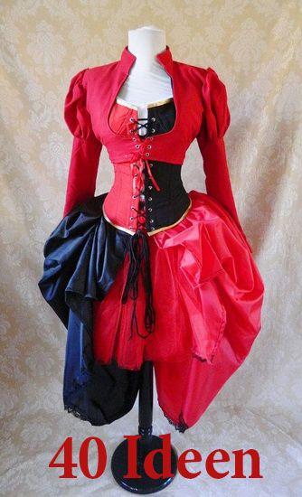http://de.lady-vishenka.com/costume-queen-hearts-halloween/  40. Königin der Herzen — Halloween / Karneval Kostüm für Mädchen