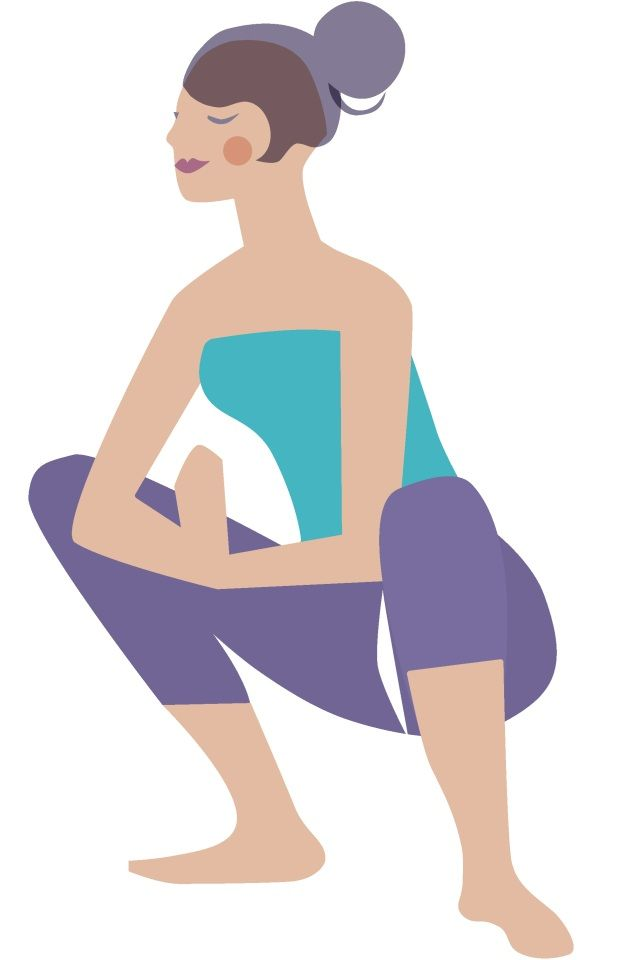 Yoga Poses To Strengthen Pelvic Floor And Prevent Incontinence -  relax the pelvic floor on each inhale and contract it on each exhale
