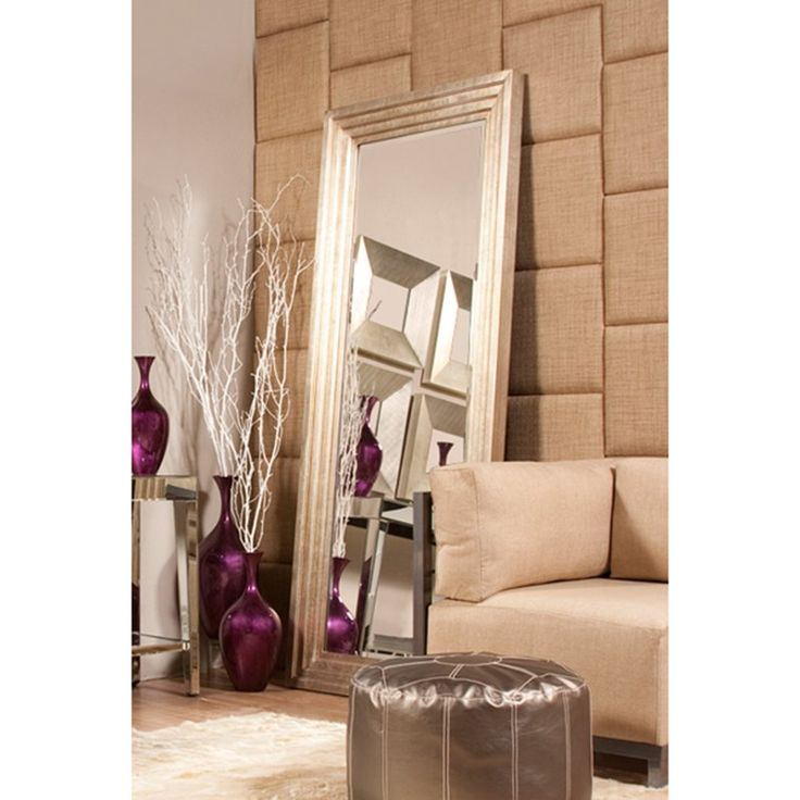 Have to have it. Delano Silver Leaf Oversized Mirror - 34W x 82H in. $499.99