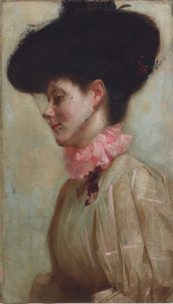 Portrait of Florence / Tom Roberts / 1898