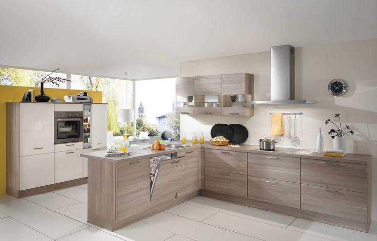 nobilia Küchen - kitchens - nobilia Produkte Hölzer Kitchen - küchen mit gasherd
