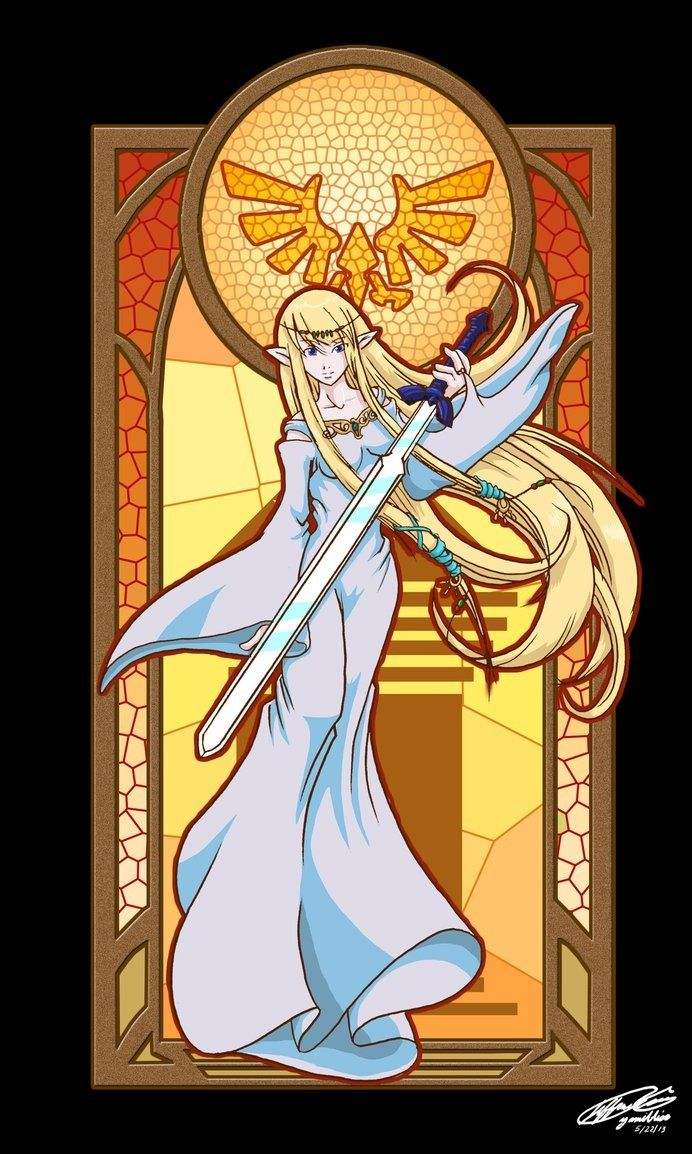 """""""Take the sword,"""" Hylia murmured to a traumatized young boy who had never held the powerful blade with which his ancestors had killed. ~Hylia, The Mess"""
