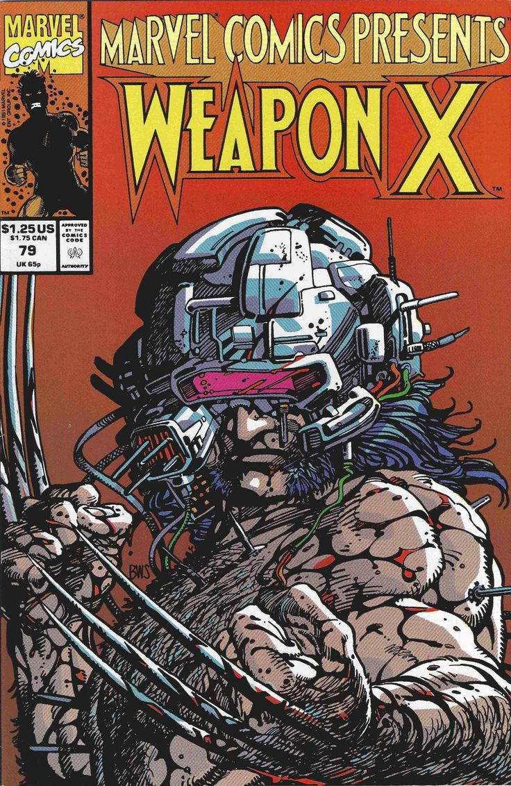 Weapon X Cover by Barry Windsor-Smith