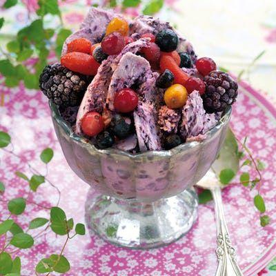 Sukkerfrie nøtteboller med bringebær - Tara
