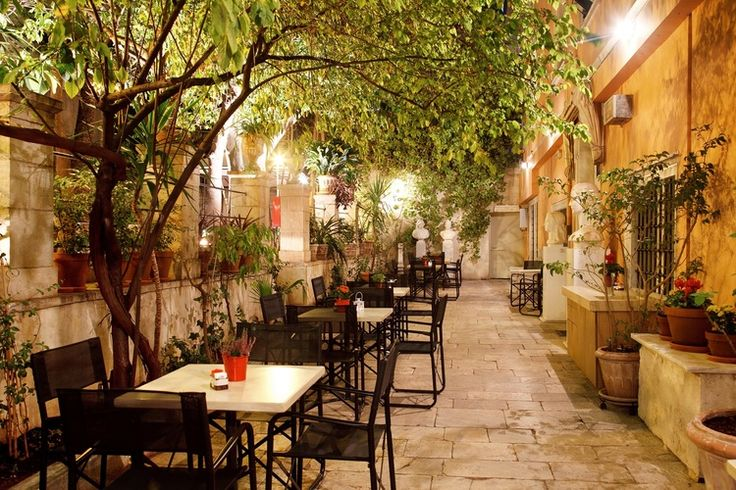 Museum of the city of Athens - cafe