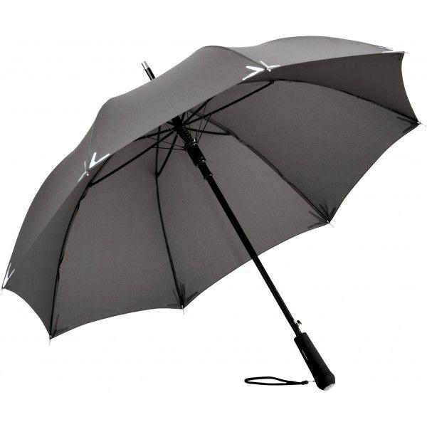 parapluie publicitaire haut de gamme FARE avec bande réfléchissante 3M