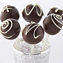 Triple Chocolate Cake Pops Allrecipes.com