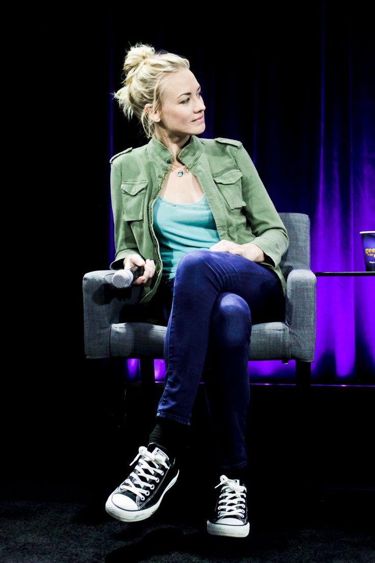 Yvonne Strahovski - Nerd HQ 2015 Badass Women Panel at Comic Con in San Diego