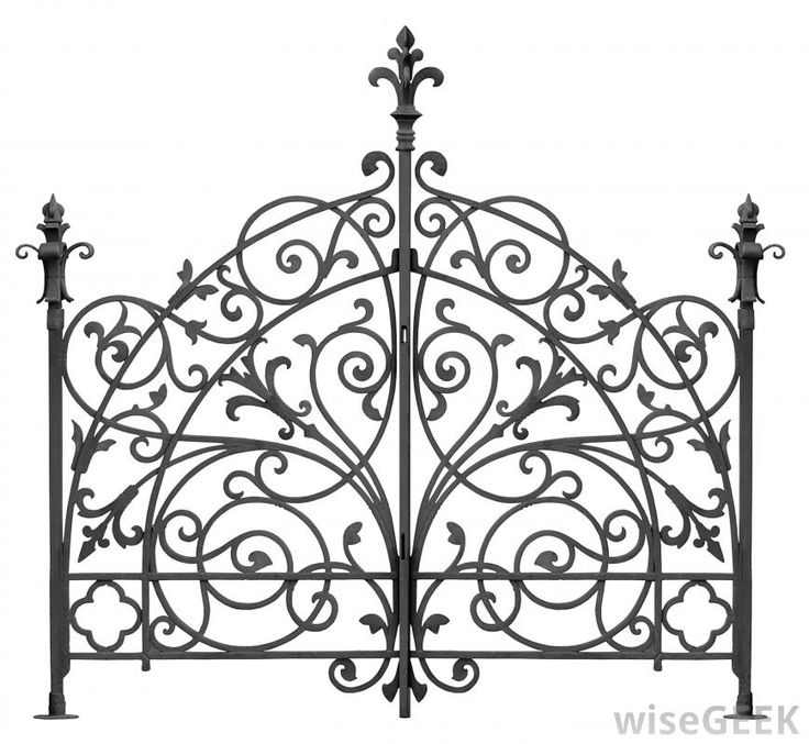 What is Wrought Iron Fence? (with pictures)