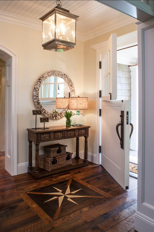entry hall design ideas an inlaid compass rose - Entryway Design Ideas