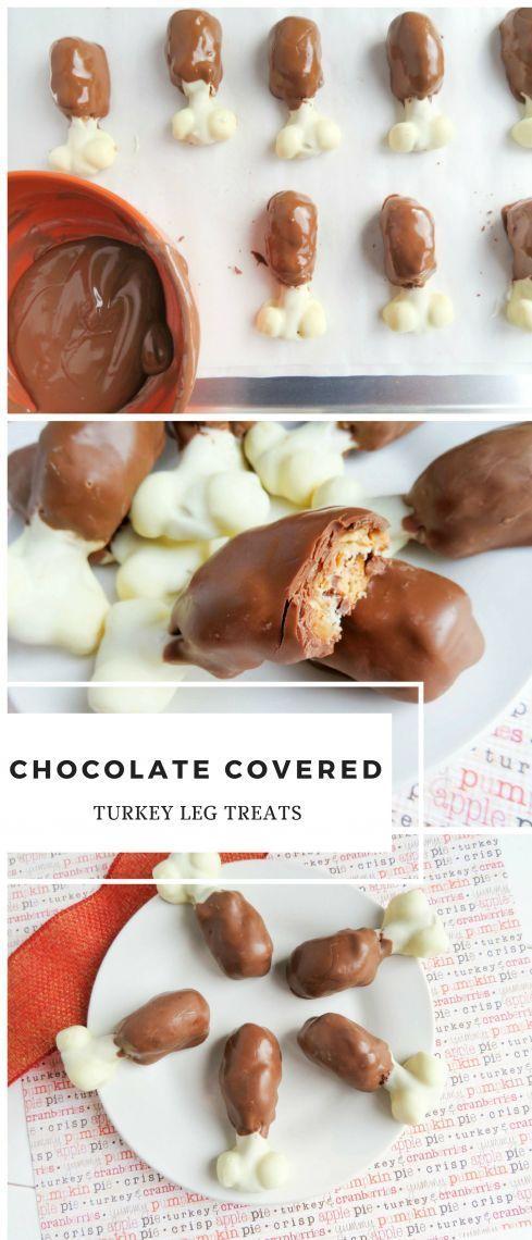Thanksgiving Dessert: Chocolate Turkey Leg Treats