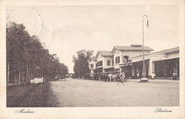 Tempo Doeloe #82 - Medan, Stasiun, 1919 | Flickr - Photo Sharing!