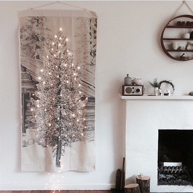Pony Rider Festive Banner. The perfect Christmas Tree for any space.