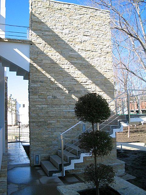 vertical calcar rustic