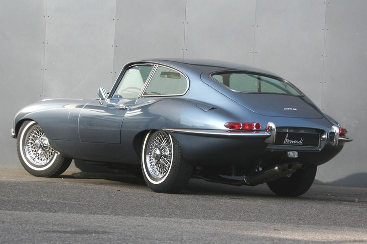 Jaguar E-Type S1 3,8l Coupé                                                                                                                                                                                 Mehr