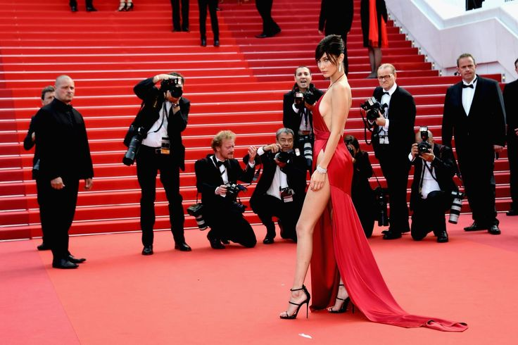 Bella Hadid Wears the Sexiest Dress We've Ever Seen at Cannes - HarpersBAZAAR.com