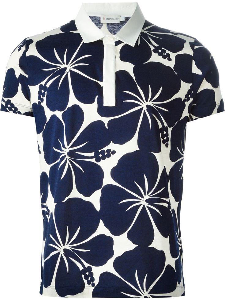 Moncler Floral Polo Shirt - Eraldo - Farfetch.com