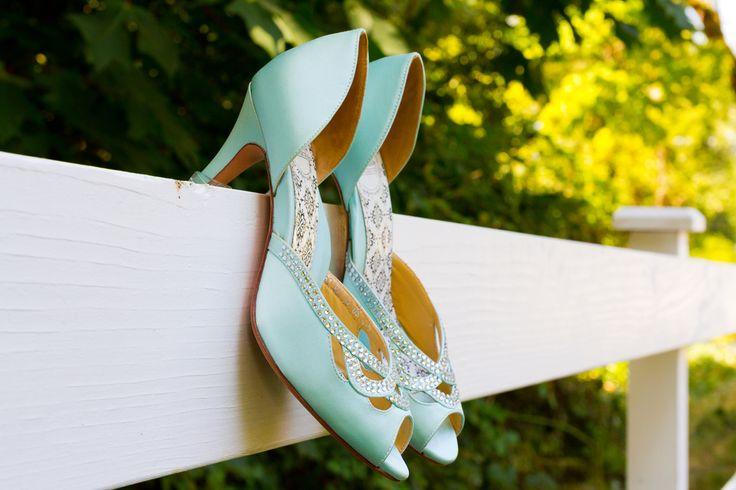 Matrimonio in verde Tiffany.