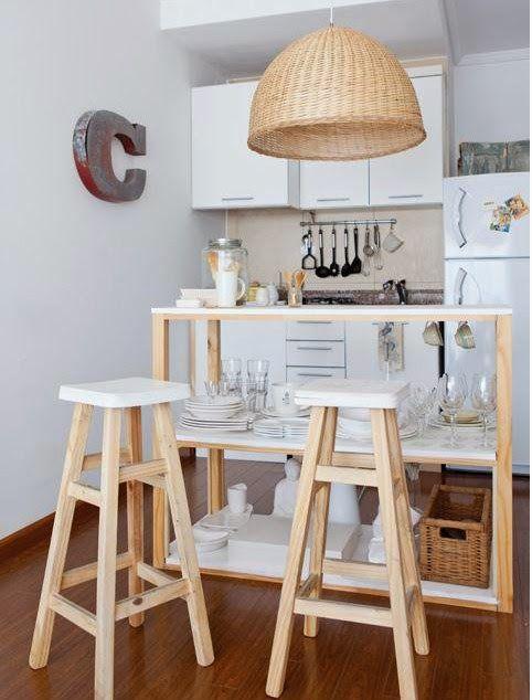 Distribución en vivienda pequeña. | Decorar tu casa es facilisimo.com