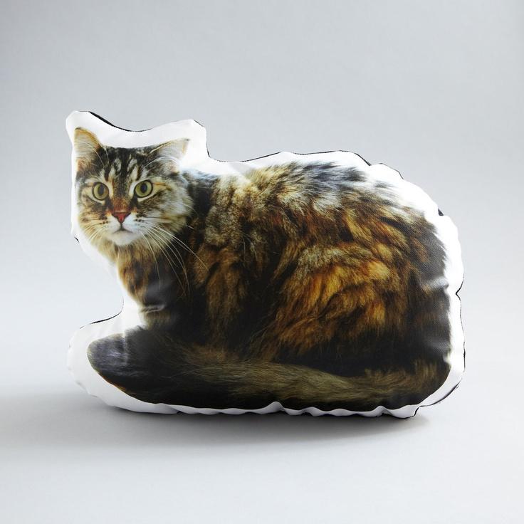 Tatiana the Sitting Cat Pillow
