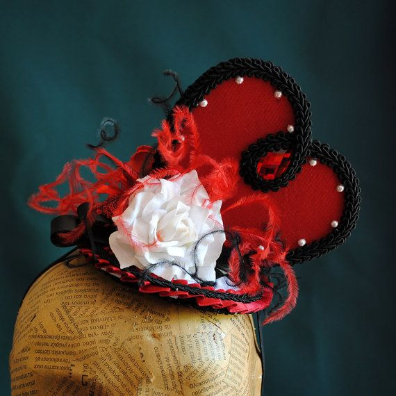 Queen of Hearts Inspired Fascinator