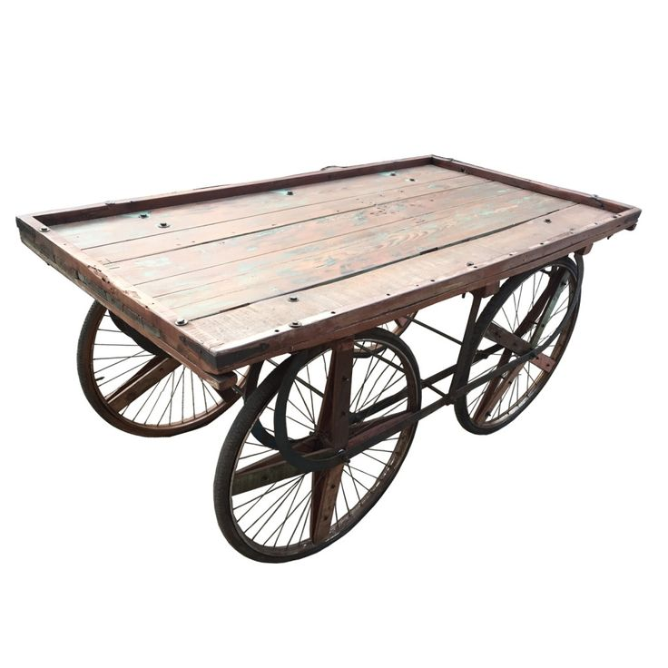 Our Vintage Produce Cart makes a stunning buffet for Wedding Desserts, party buffet or outdoor bar! The inspiration for this rustic cart is a 1880 French produce cart found in...