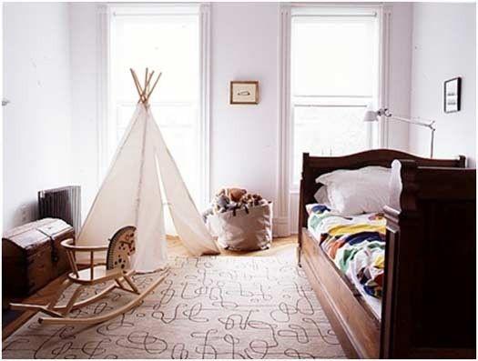 Imecabble kreative einfachen Bedroom Interior Design Ideen Featuring spielen Zelten für Kinder passen alle modernen Heim-Homesthetics (18)