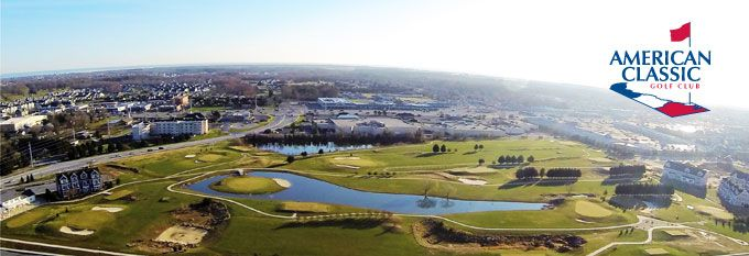Arial view of the American Classic Golf Club located in Lewes, DE!  #Golf #lewes #delaware #thingstodo #recreation #outdoors #rehobothbeach #rehoboth #alwaystimefor9 #ACGC