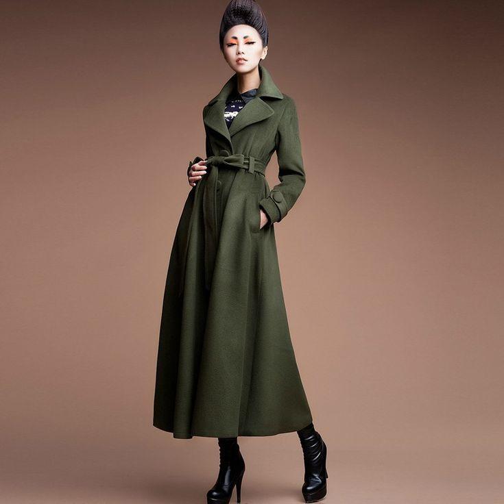 Ladies Long Winter Coats With Hoods