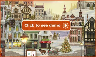 Advent, Advent calendar and Christmas villages on Pinterest