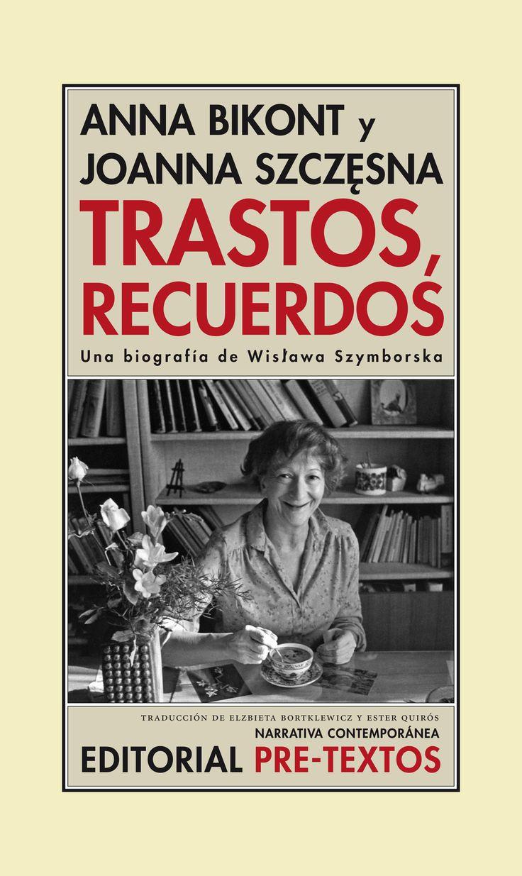 «Confesarse públicamente es como perder tu propia alma. Hay que guardar algo para uno. No puede derrocharse todo.» A Wislawa Szymborska nunca le gustó hablar de sí misma, pues consideraba que todo lo que tenía que decir sobre ella estaba en sus poemas. Esta biografía es un compendio de los detalles biográficos que las autoras extrajeron ... http://cultura.elpais.com/cultura/2015/04/30/actualidad/1430415802_952833.html…