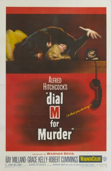 1954 Dial M For Murder Original US One Sheet Film Poster. £3250 from Vintage Seekers.
