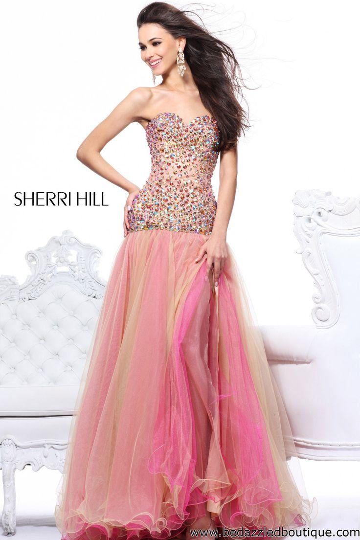 578 best Sherri Hill lightness images on Pinterest | Prom dresses ...